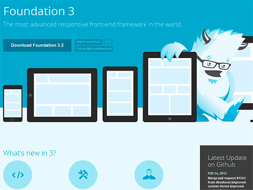 responsive design foundation