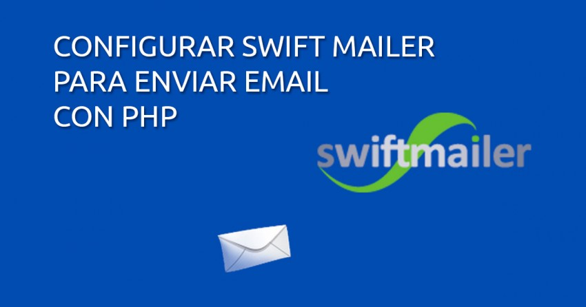 configurar swift mailer php