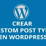 Crear custom post type en WordPress