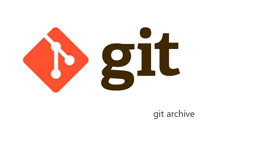 git archive only files