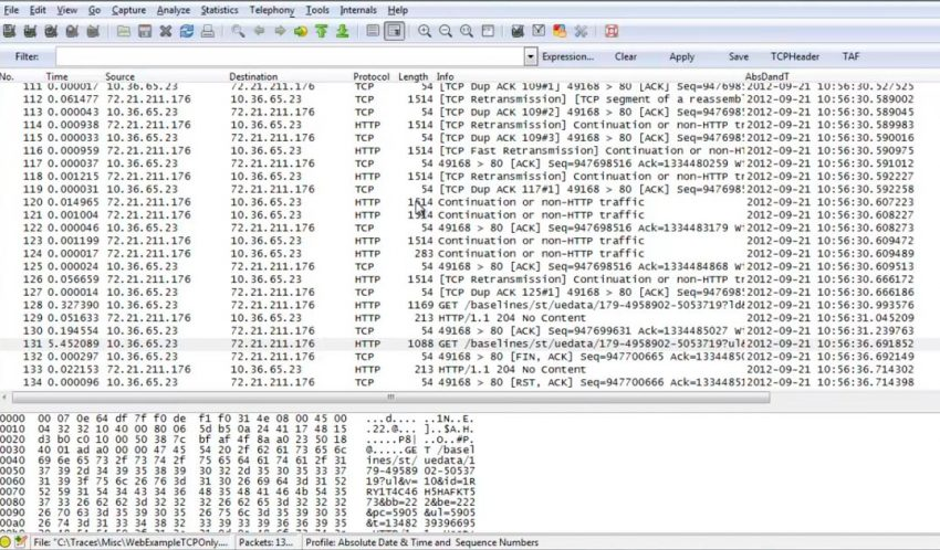 Tcpdump y Wireshark