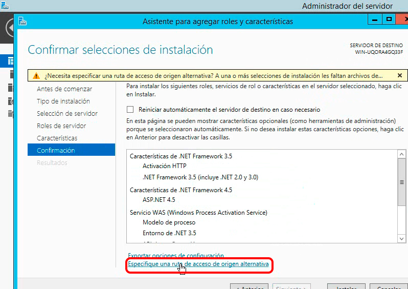 php manager activacion http